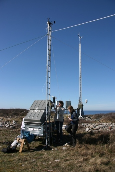 Mobile micromet station